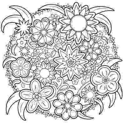 free coloring book printables spring garden mandala m96 color a mandala book printables coloring free