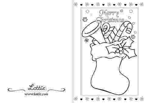 free coloring christmas cards chritsmas colouring card 6 lottie dolls free christmas cards coloring