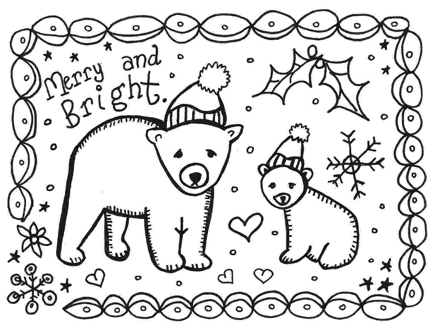 free coloring christmas cards how to make printable christmas cards for kids to color coloring cards christmas free