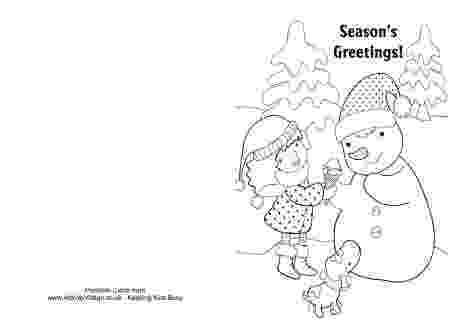free coloring christmas cards merry christmas card coloring page getcoloringpagescom coloring christmas free cards