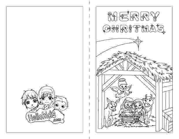 free coloring christmas cards nativity scene coloring pages hellokidscom free christmas coloring cards