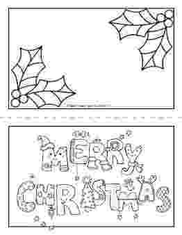 free coloring christmas cards printable merry christmas card coloring page for kids cards free coloring christmas