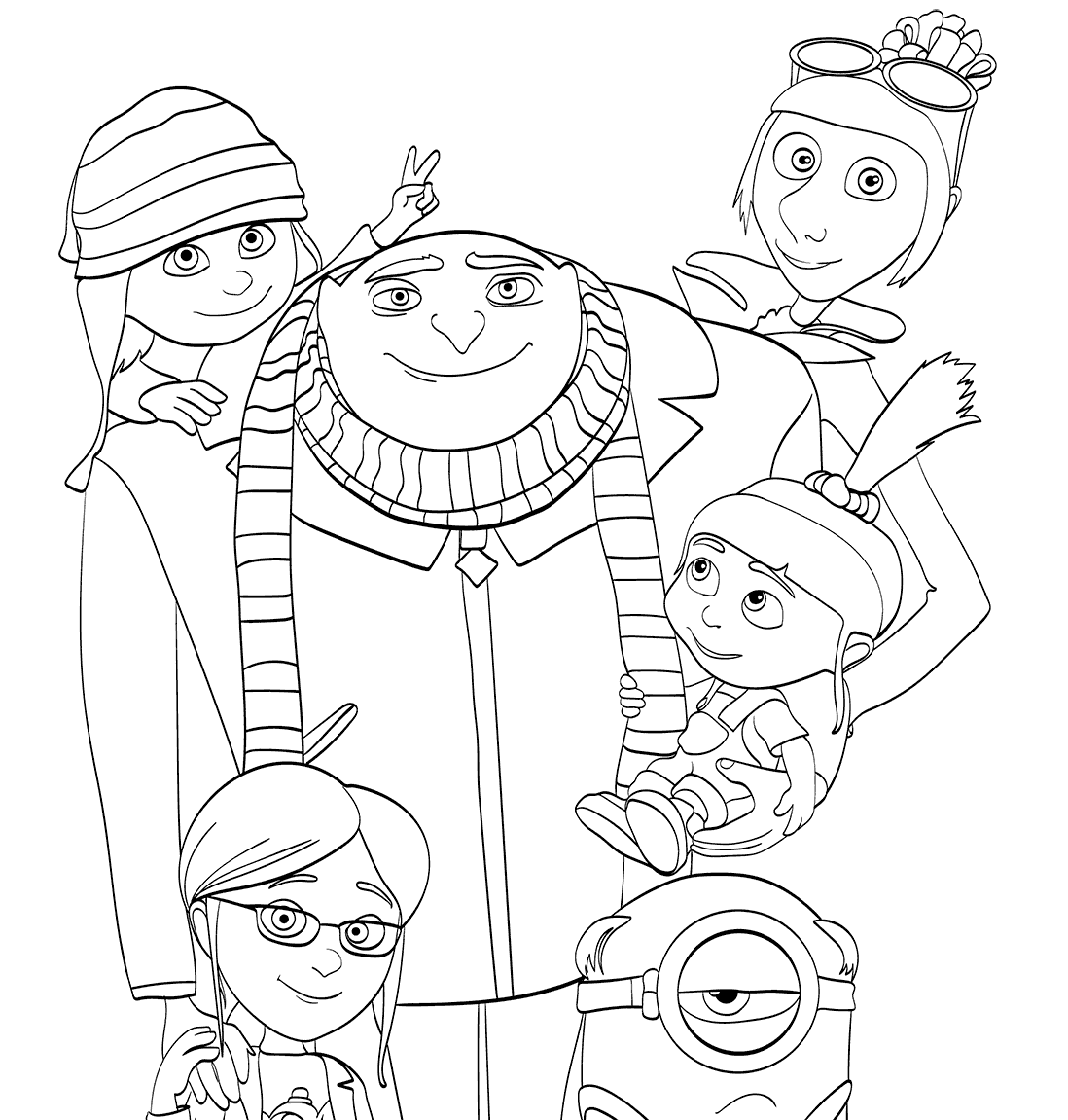 free coloring pages despicable me printable despicable me coloring pages for kids cool2bkids me coloring despicable pages free