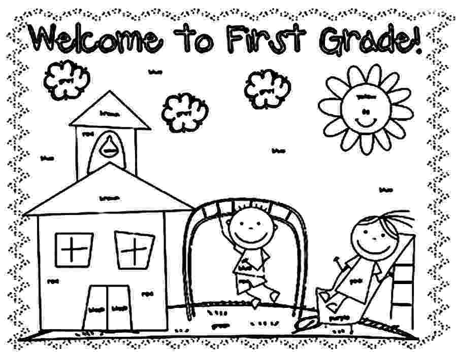 free coloring pages grade 1 1st grade coloring pages wecoloringpagecom coloring 1 pages free grade