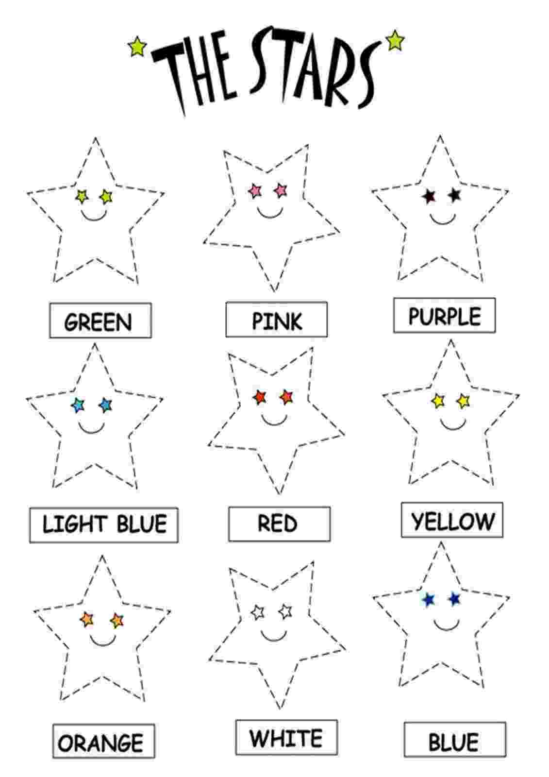 free coloring pages grade 1 color the stars worksheets download free printable and coloring pages 1 grade free