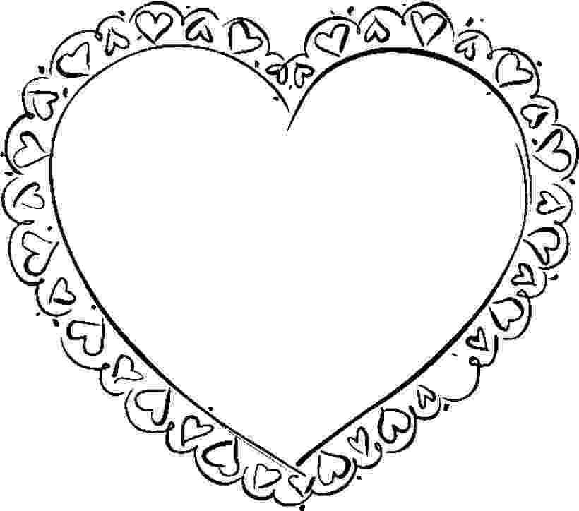 free coloring pages hearts free printable heart coloring pages for kids coloring pages free hearts