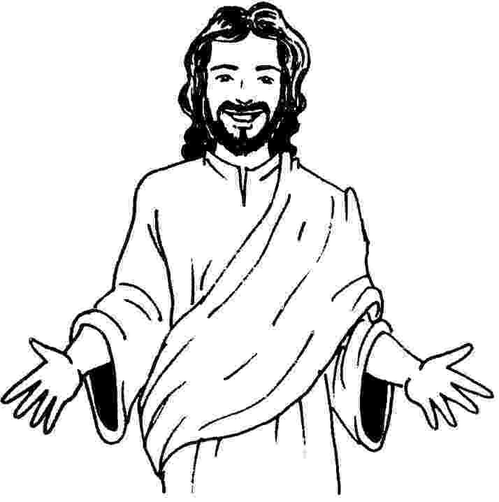 free coloring pages jesus jesus cartoon images clipartsco coloring pages jesus free