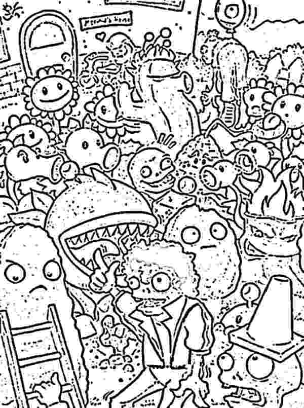 free coloring pages plants vs zombies get this plants vs zombies coloring pages kids printable plants zombies vs pages coloring free