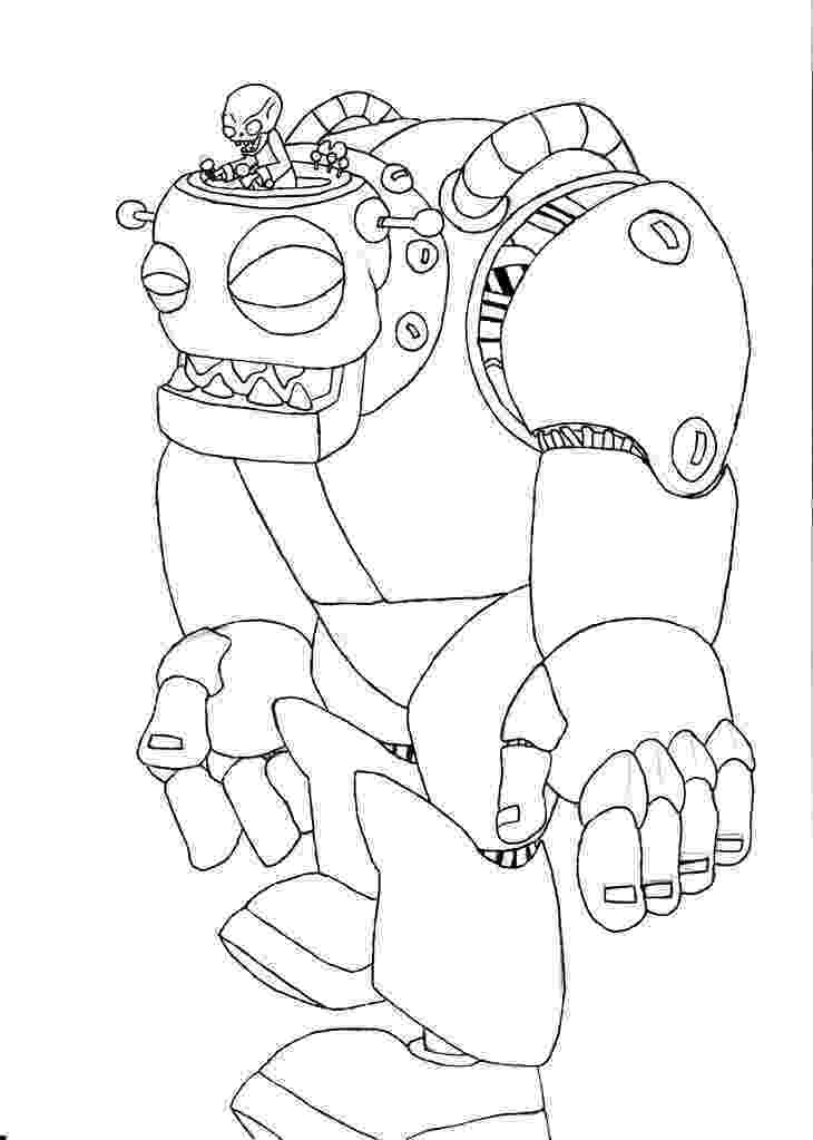 free coloring pages plants vs zombies image zombotjpg plants vs zombies character creator plants coloring pages zombies vs free