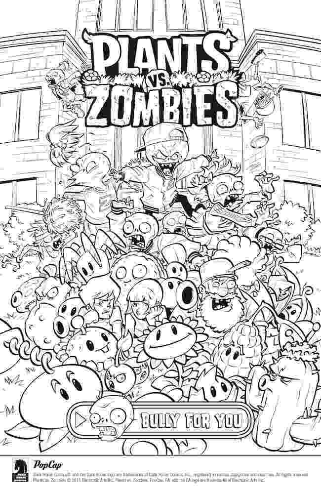 free coloring pages plants vs zombies plants vs zombies coloring pages to download and print for vs zombies free pages coloring plants