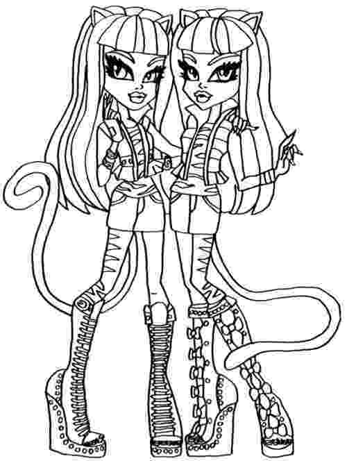 free colouring pages monster high free printable monster high coloring pages february 2013 monster high colouring free pages
