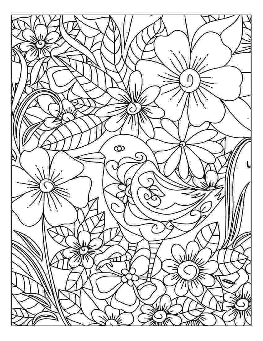 free colouring pages to print for adults floral coloring pages for adults best coloring pages for to for colouring adults print free pages