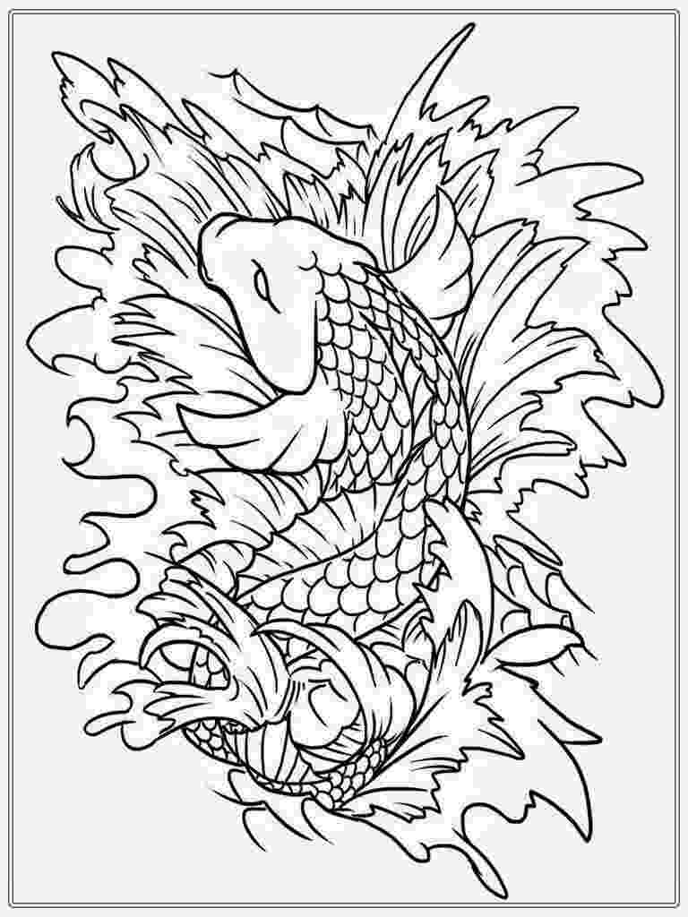 free colouring pages to print for adults japanese koi coloring pages download and print for free to for print pages free colouring adults