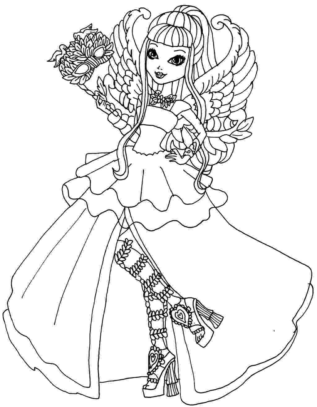 free ever after high printables ever after high coloring pages best coloring pages for kids free printables high after ever