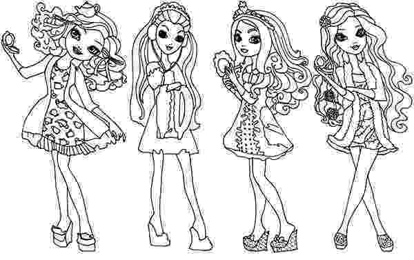 free ever after high printables ever after high coloring pages download print online after ever free printables high