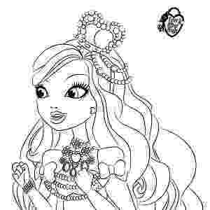 free ever after high printables ever after high free printable coloring pages for kids high ever printables after free