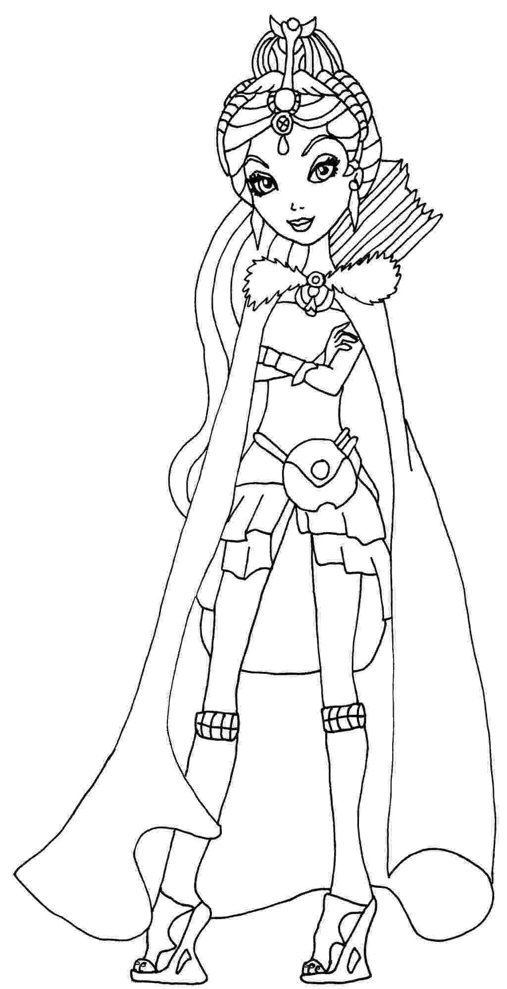 free ever after high printables get this ever after high coloring pages for girls tyu56 free high after ever printables