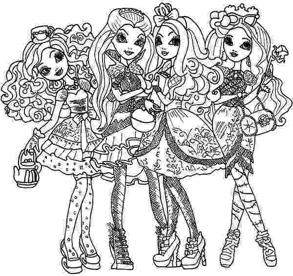 free ever after high printables get this ever after high coloring pages free printable 56449 high ever after printables free