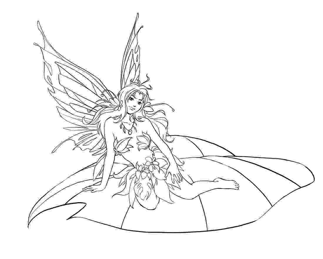 free fairy coloring pages adult fairy coloring page getcoloringpagescom fairy free coloring pages