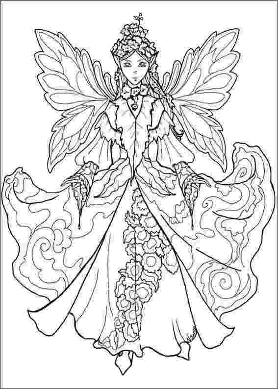 free fairy coloring pages coloring for adults kleuren voor volwassenen fairy free fairy coloring pages