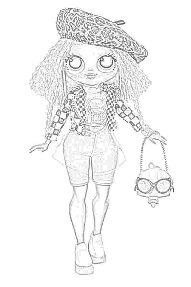 free m coloring pages coloring pages lol surprise omg dolls coloring coloring pages free m