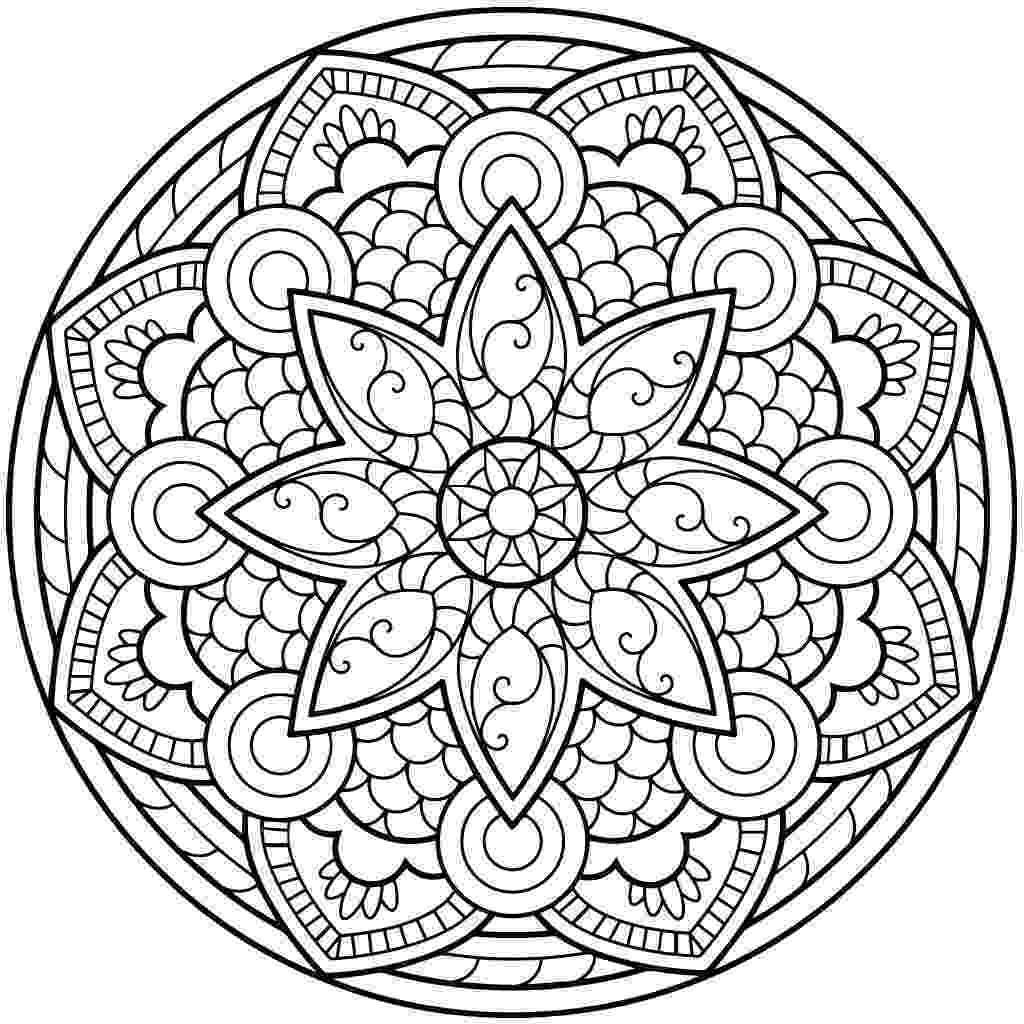 free mandala coloring 20 free printable mandala coloring pages for adults free coloring mandala