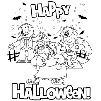 free n fun halloween coloring pages happy witch free n fun halloween from oriental trading coloring halloween n free fun pages