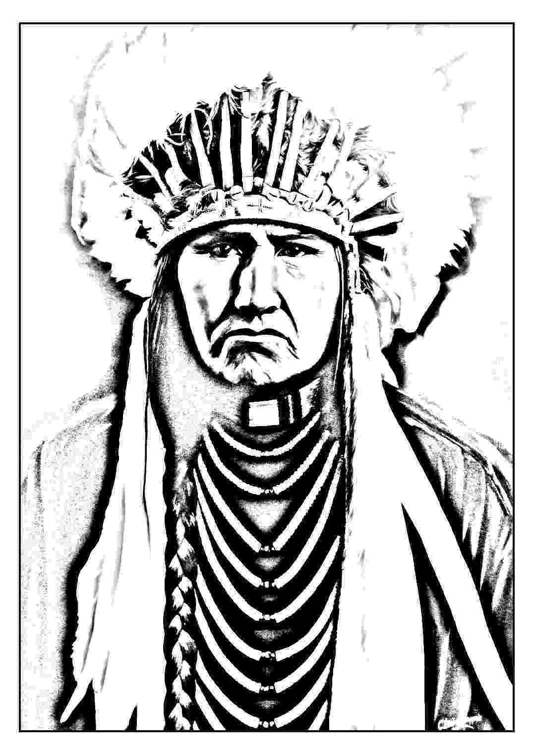 free native american indian coloring pages native american boy coloring pages download and print for free american coloring native pages indian free
