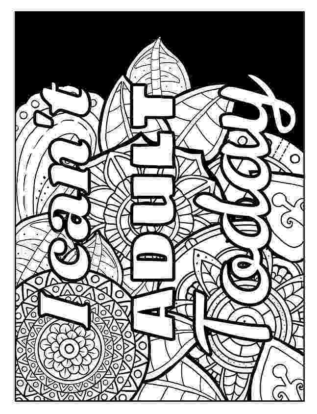 free online coloring pages for adults swear words best swear word coloring books a giveaway cleverpedia adults pages words for free online coloring swear