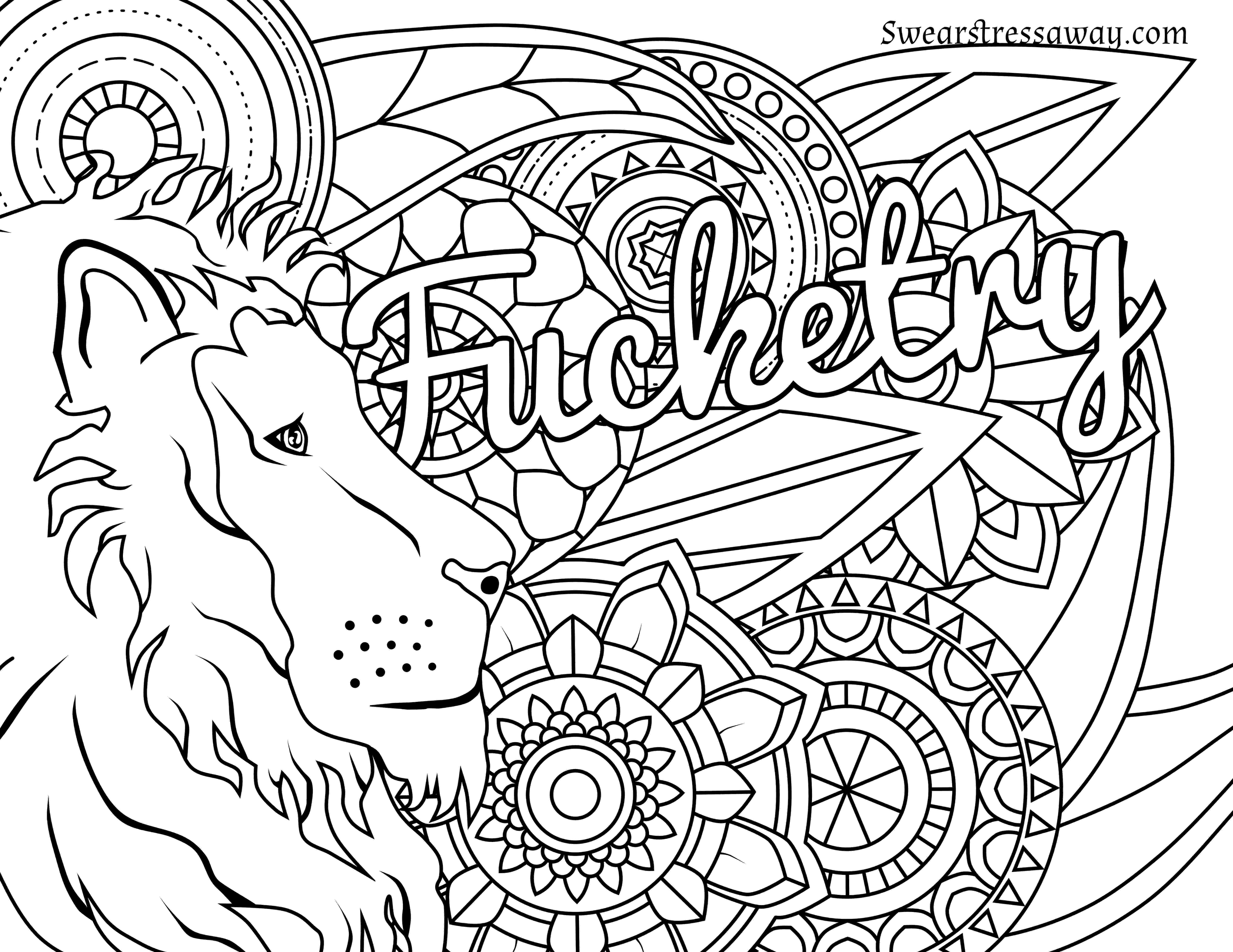 free online coloring pages for adults swear words coloring pages curse words at getdrawings free download swear pages coloring adults words online for free