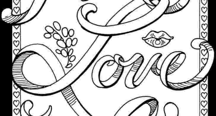 free online coloring pages for adults swear words pin on etsy love free coloring online adults swear words for pages