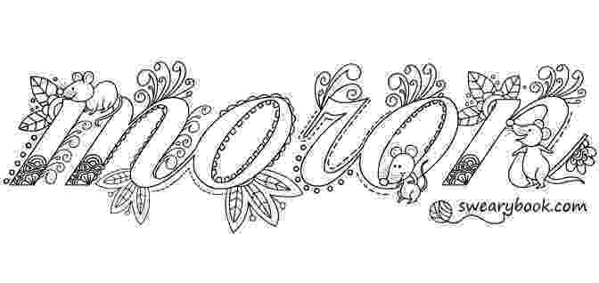 free online coloring pages for adults swear words queen of resting bitch face adult coloring page by the coloring online adults for words free pages swear