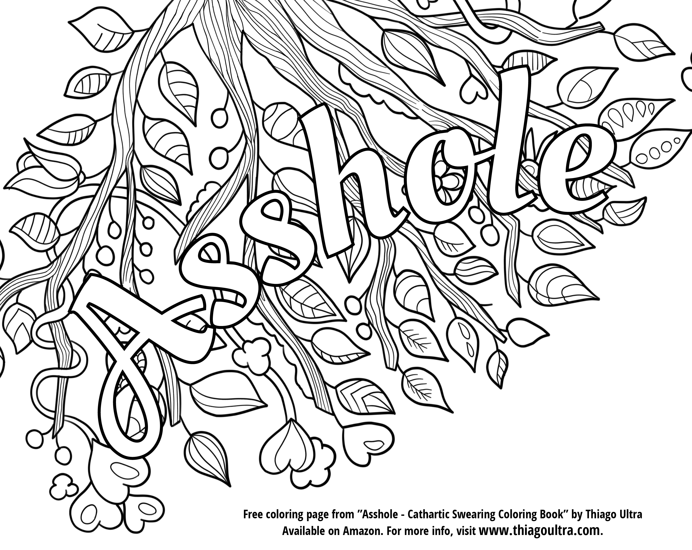 free online coloring pages for adults swear words swear word coloring book 2 free printable coloring pages adults swear words online free for coloring pages