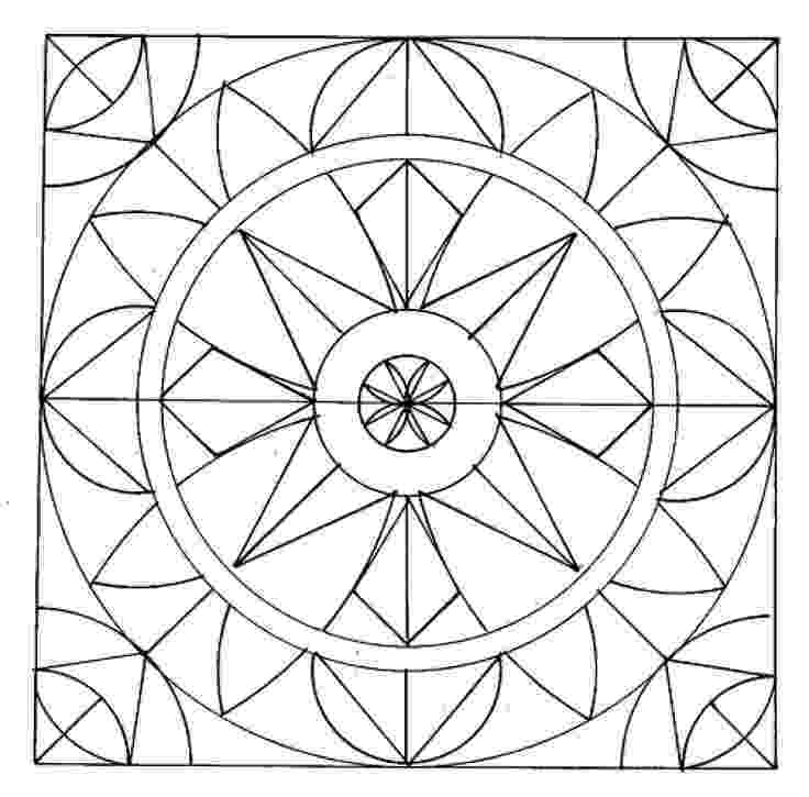 free pattern coloring pages easy geometric abstract coloring page for kids geometric free coloring pages pattern
