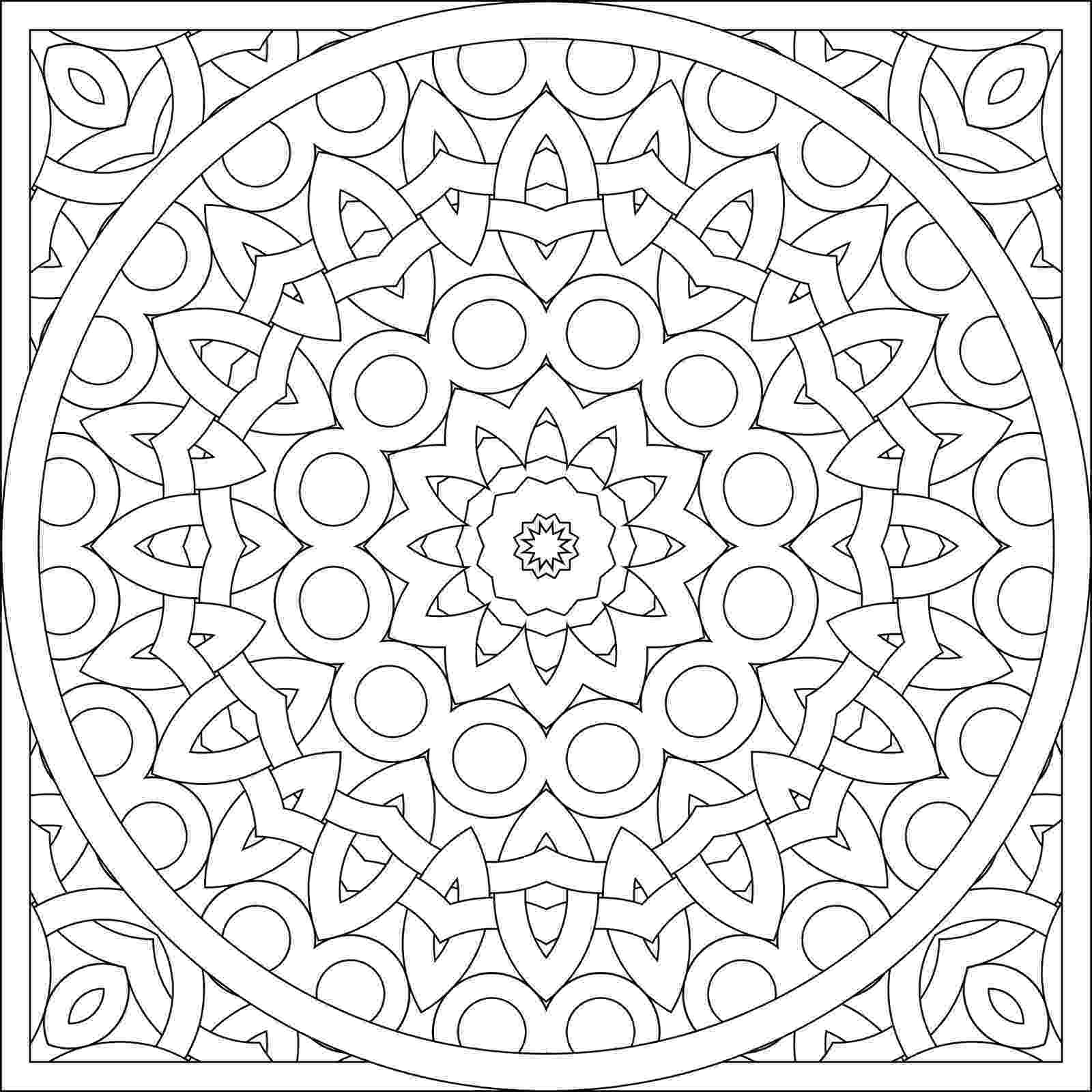 free pattern coloring pages sunflower free pattern download hobbycraft blog coloring pages pattern free