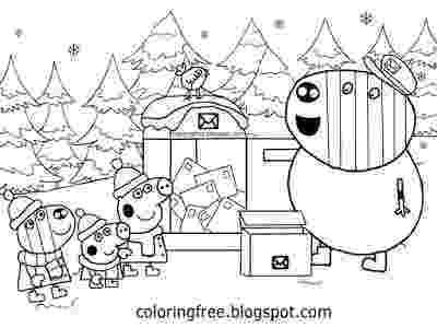 free peppa pig christmas colouring pages coloriage peppa pig à colorier dessin à imprimer peppa pages free pig colouring christmas peppa