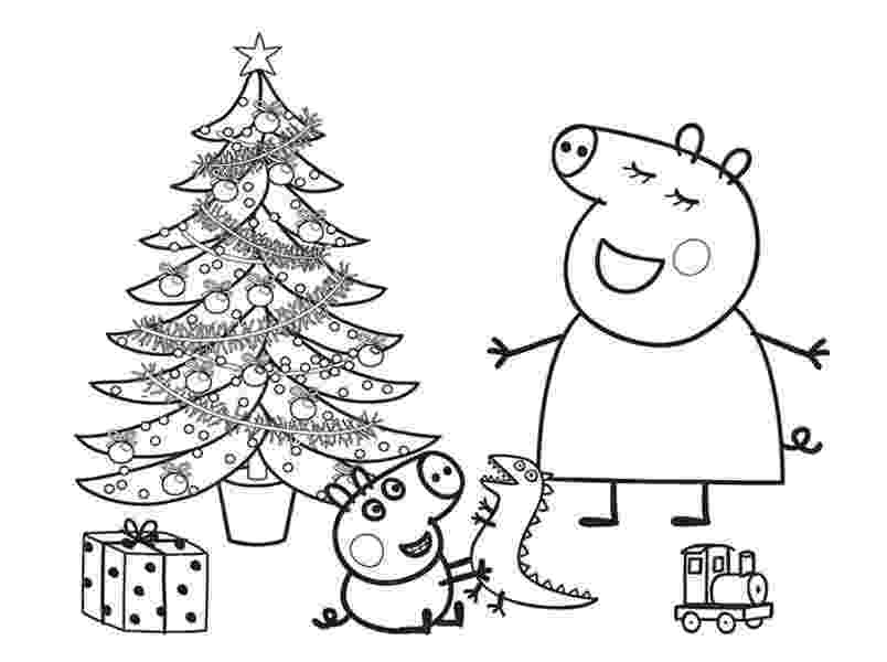 free peppa pig christmas colouring pages free coloring pages printable pictures to color kids pages christmas colouring free peppa pig
