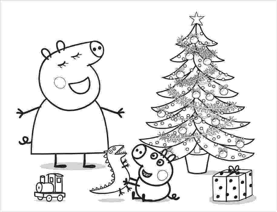 free peppa pig christmas colouring pages peppa pig coloring pages peppa coloring book youtube pages colouring christmas peppa pig free