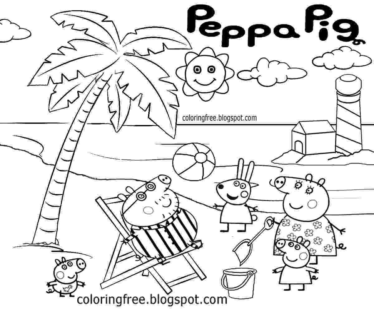 free peppa pig christmas colouring pages peppa pig drawing at getdrawings free download peppa pig free christmas colouring pages