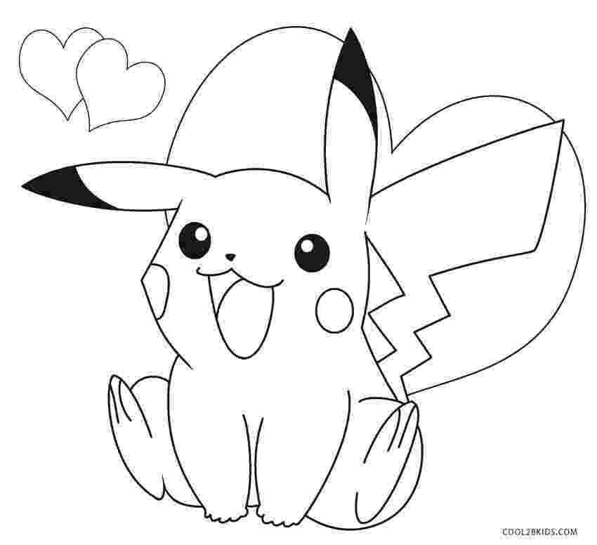 free pikachu printables printable pikachu coloring pages for kids cool2bkids free printables pikachu