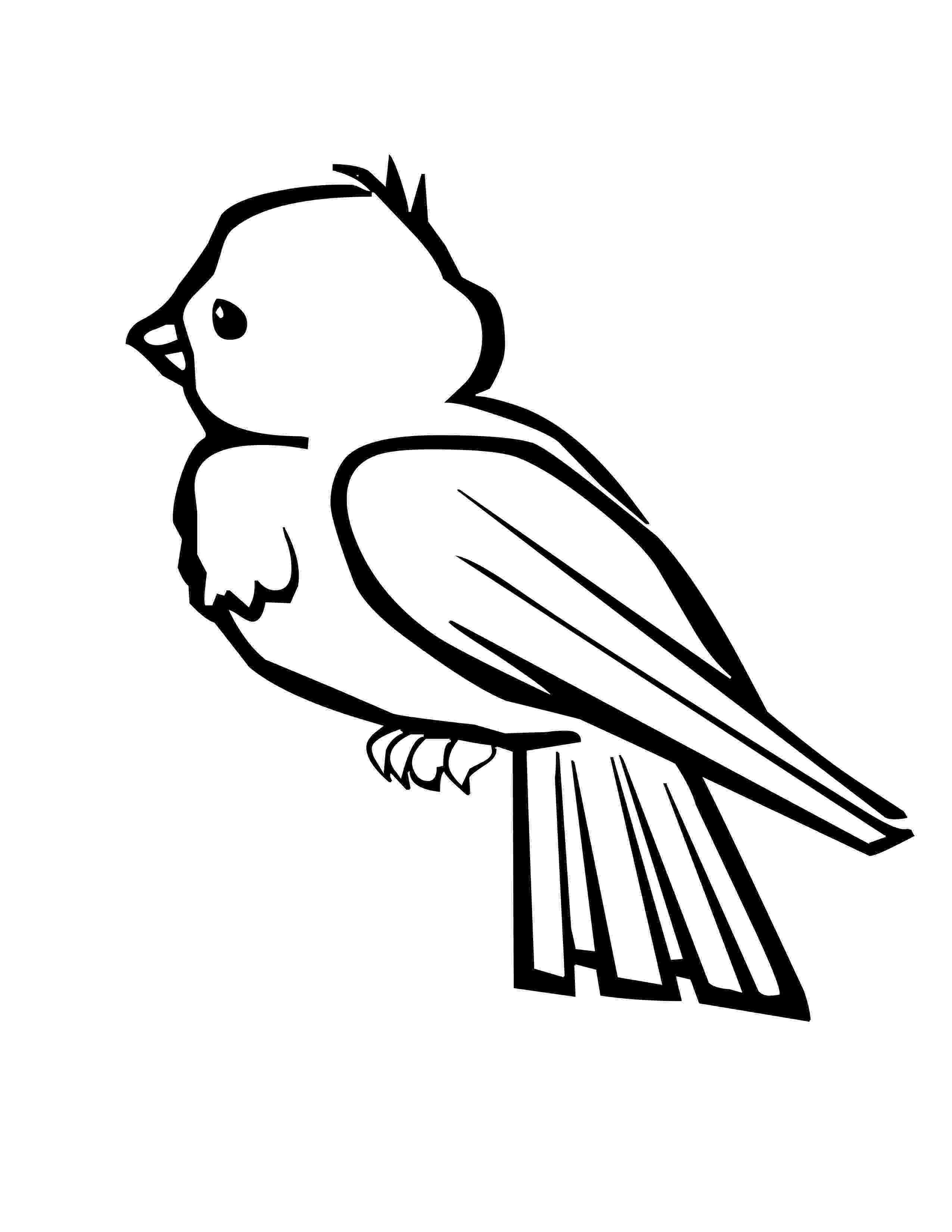 free printable bird coloring pages birds coloring page happy family art free pages bird printable coloring