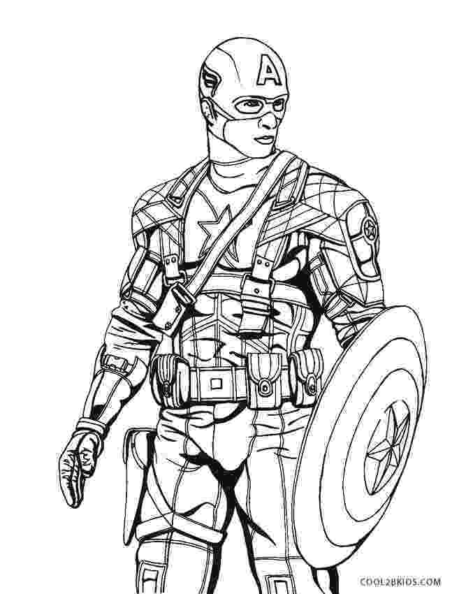 free printable captain america coloring pages free printable captain america coloring pages for kids america captain pages printable coloring free