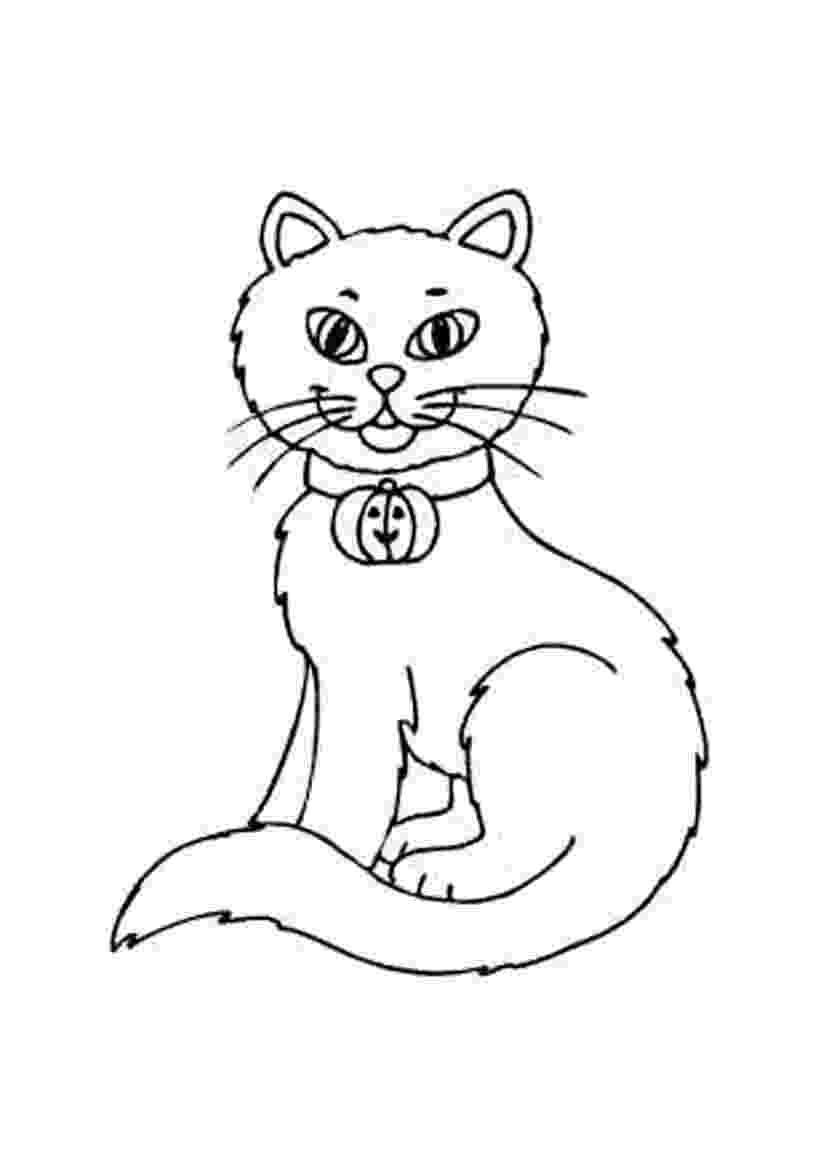 free printable cat pictures to color cat coloring pages to free cat color pictures printable