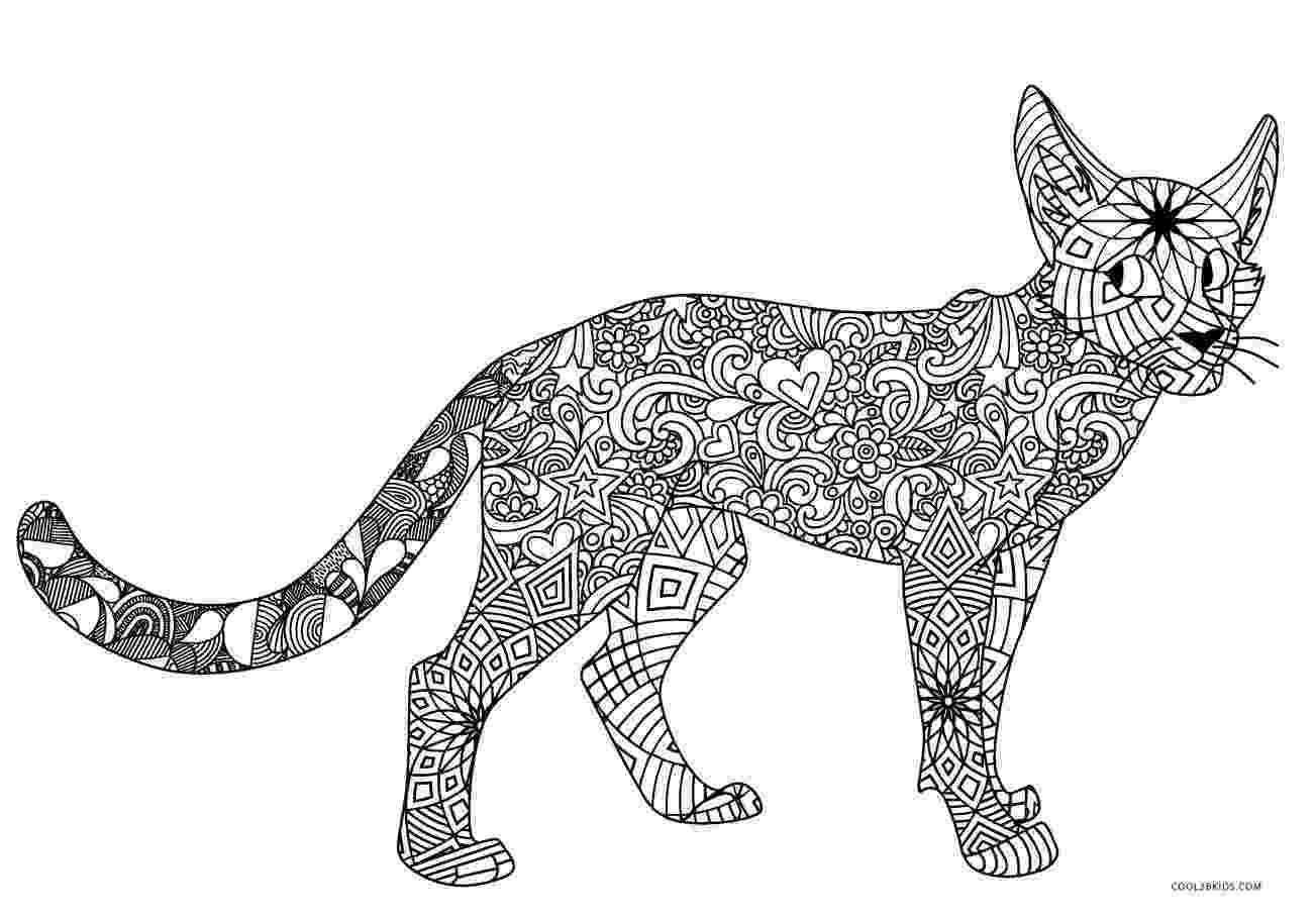 free printable cat pictures to color cute cat coloring pages to download and print for free pictures color cat to printable free