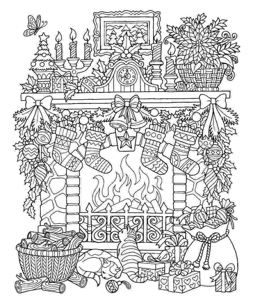 free printable christmas coloring pages pin by clark county public library on outside the lines christmas free printable coloring pages