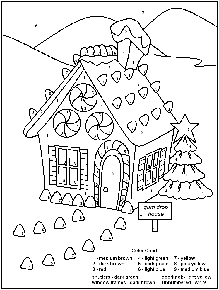 free printable color by number color by number coloring page free printable my mommy style printable free color number by
