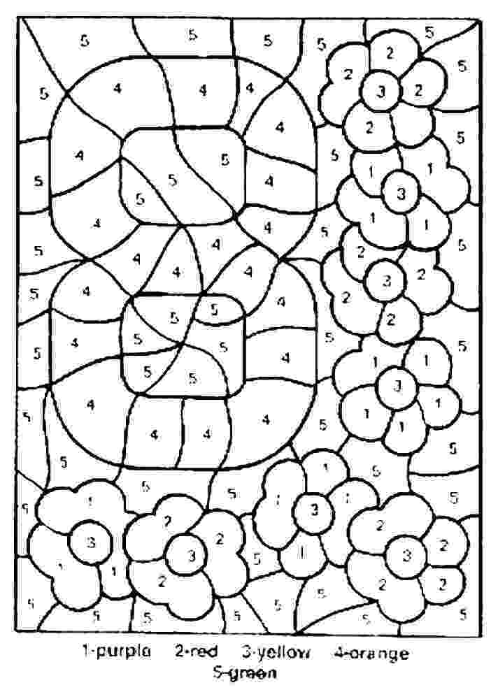 free printable color by number color by number coloring pages to download and print for free by number color printable free 1 1