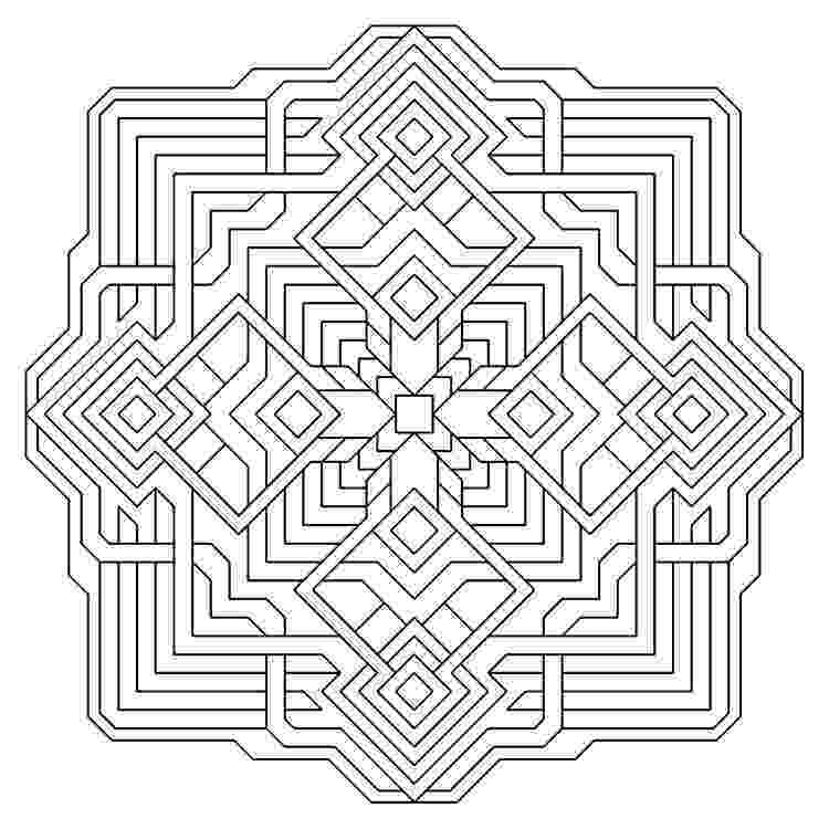 free printable coloring pages for adults geometric geometric coloring pages for adults coloring home adults coloring free printable geometric pages for