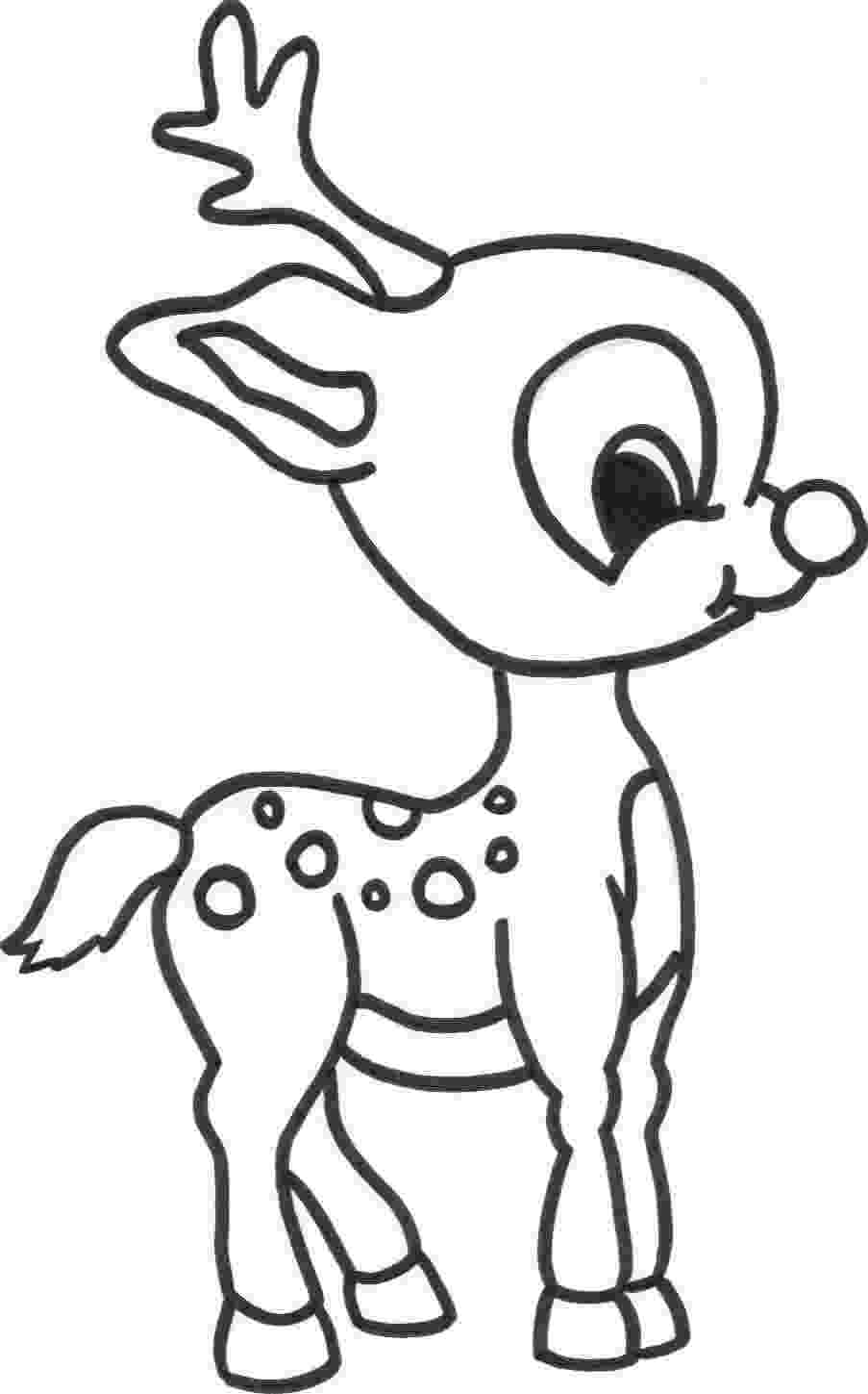 free printable coloring pages reindeer coloring pages reindeer coloring pages free and printable reindeer printable pages coloring free
