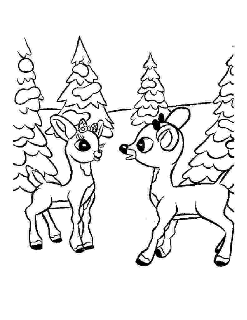 free printable coloring pages reindeer free printable reindeer coloring pages for kids free pages reindeer printable coloring